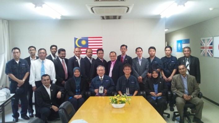 マレーシアからの工場見学