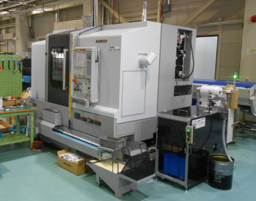 3月末に高剛性高精度CNC旋盤 NLX1500Y(DMG-森精機)を導入しました。